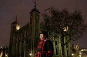 ロンドン塔の護衛兵